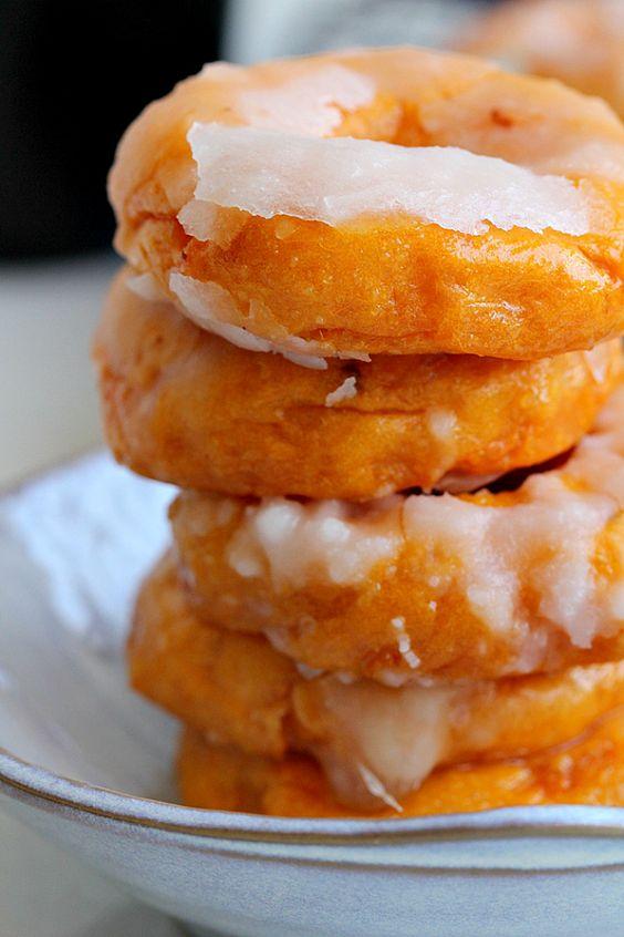sweet potato donuts!!! sounds like donut heaven!