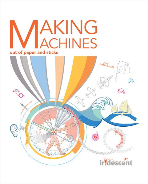 A collection of exciting hands-on engineer activities for the family to build together. All the experiments are made of very simple materials you can find around the house or stationery stores. Book design by ioanacolor.com