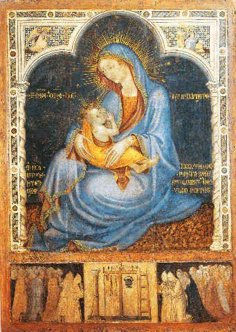 Bartolomeo Pellerano da Camogli Maria mit Kind ...