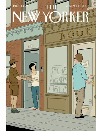 Adrian Tomine. The New Yorker, agosto 2008
