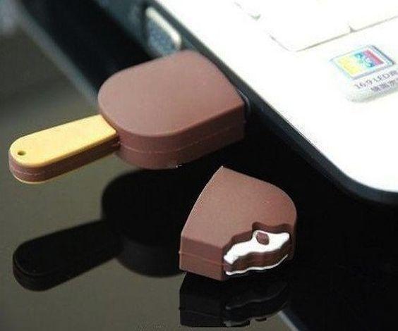 Chocolate Ice Cream Bar USB – $13