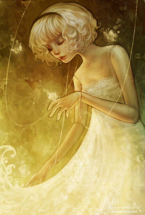 Marionette Moths by ~yumedust on deviantART