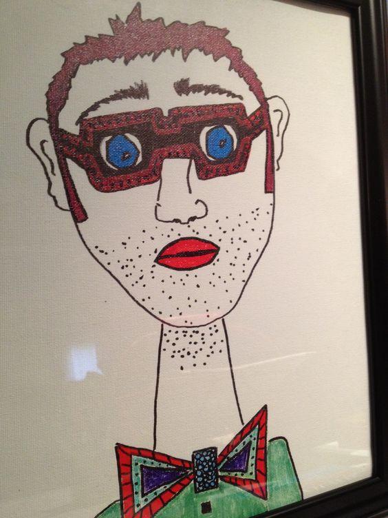 Mr. Glasses by David Kafer
