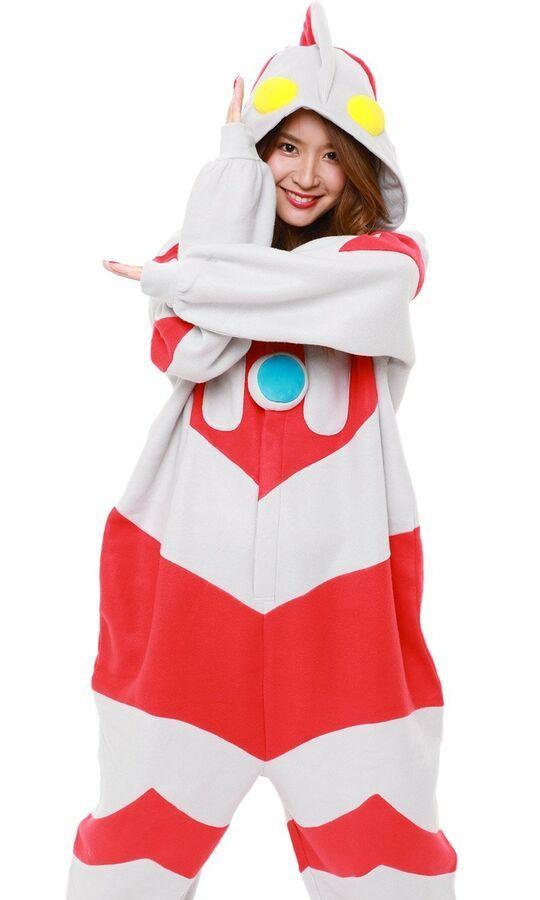 Ultraman Fleece Kigurumi Cosplay Costume Japanese SAZAC New