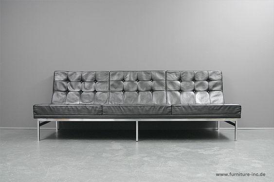 Knoll International Florence Knoll Sofa