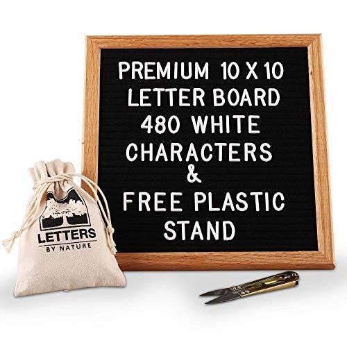 Black Felt Letter Board 10x10 Inches Changeable Letter B Https Www Amazon Com Dp B078s16zwc Ref Cm Sw R Pi Letter Board Felt Letter Board Plastic Letters
