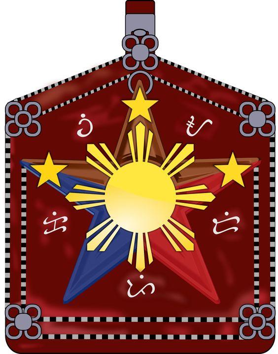 Amuleto de protección de la mitología filipina