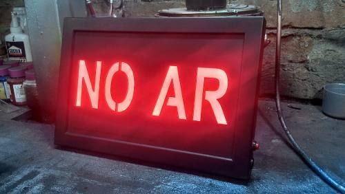 No ar