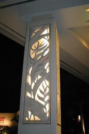 interior design columns - Decorative panels, olumns and Screens on Pinterest