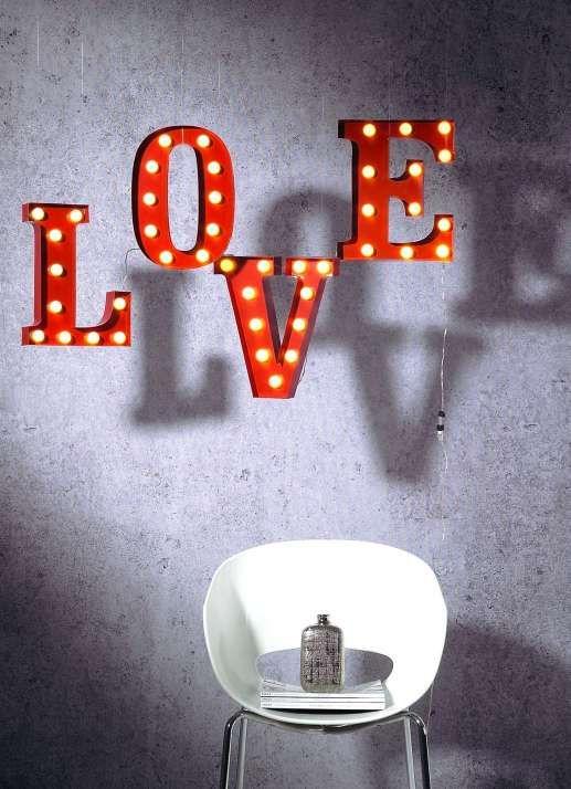 "LED Schriftzug ""LOVE"" für innen"