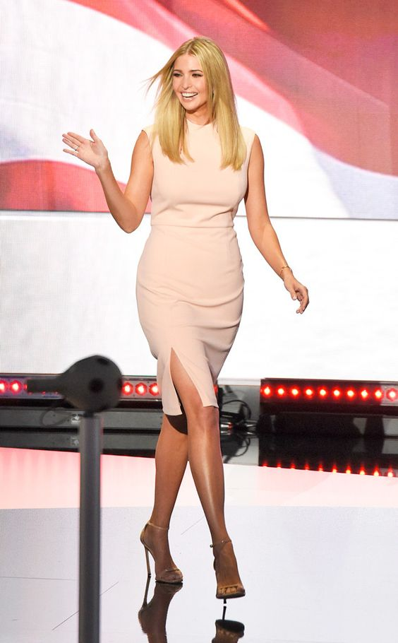 Ivanka Trump Made Both Political & Fashion Statements at RNC
