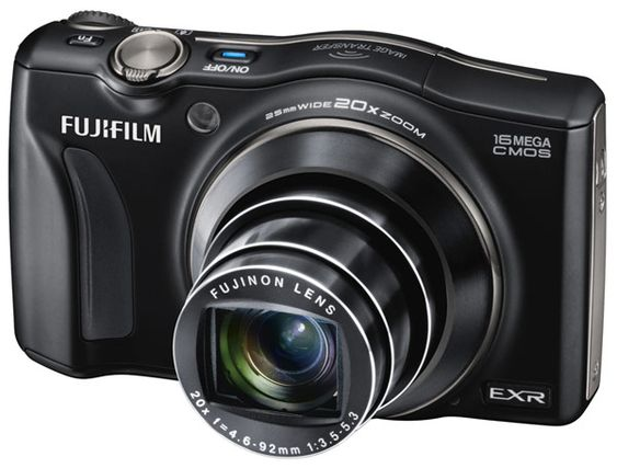 Fujifilm FinePix F800EXR camera with wireless sharing to Android, iOS
