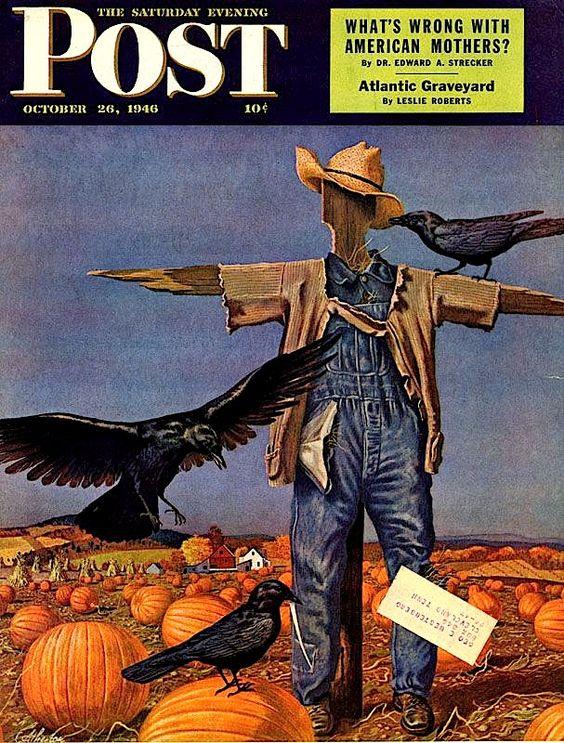 Saturday Evening Post - October -1946 - Scarecrow