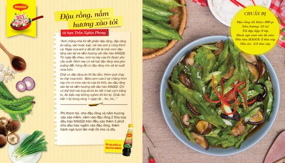 Món xào thắng giải ngày 3/3: Đậu Rồng Nấm Hương Xào Tỏi từ Trần Nghin Phong. Tham gia góp món xào ngon tại www.365monxao.com để có cơ hội trúng nhiều giải thưởng hấp dẫn!