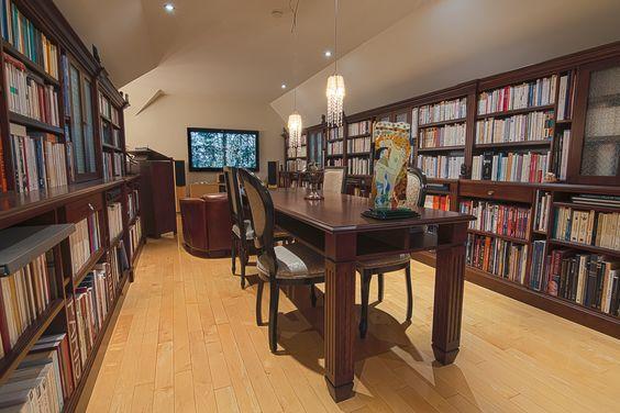 Une bibliothèque de rêve!!!