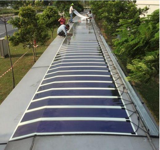 Solarfußweg