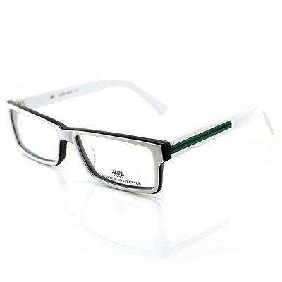 new rectangle black white eyeglasses mens optical glasses frame fashion 22 01 mens fashion pinterest optical glasses glass and eyewear - White Frame Glasses