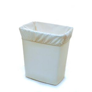 Kissa's Pail Liner, White $14.95. Use this with the Safety 1st Diaper Pail.