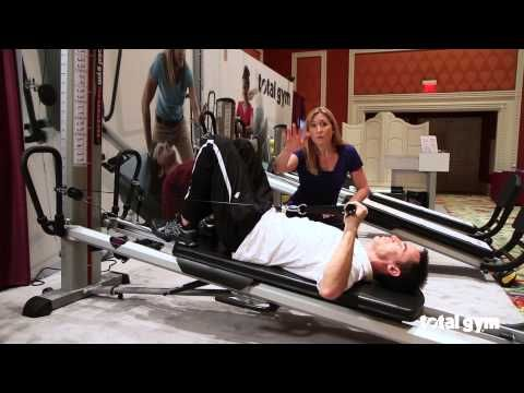 Total Gym Applications For Physical Therapy Shoulder Youtube Total Gym Total Gym Workouts Physical Therapy