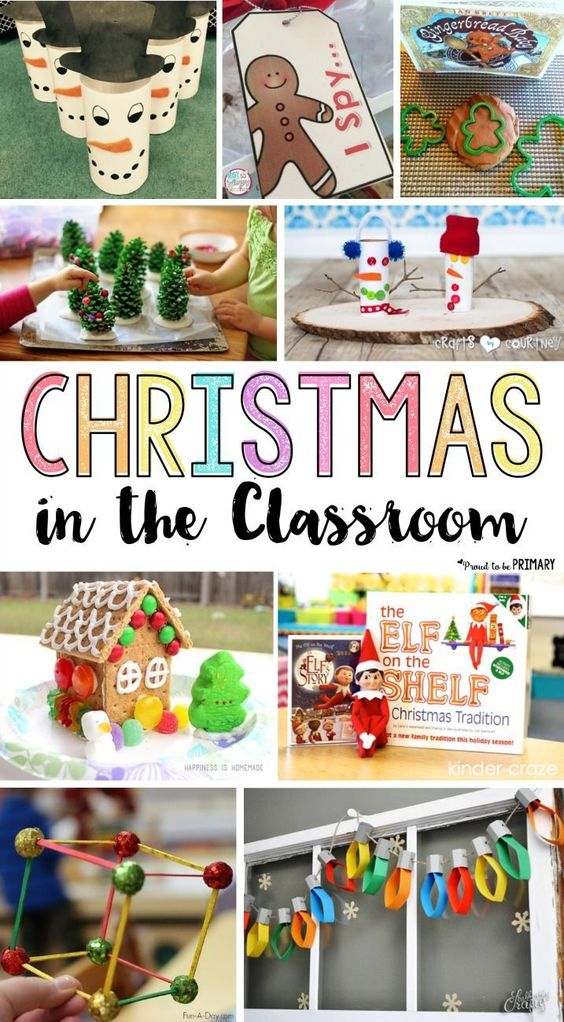 Classroom Ideas And Activities : Ideas for christmas in the classroom best