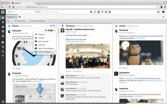 Hootsuite partners with hashtag aggregator Tagboard to help brands display social media posts