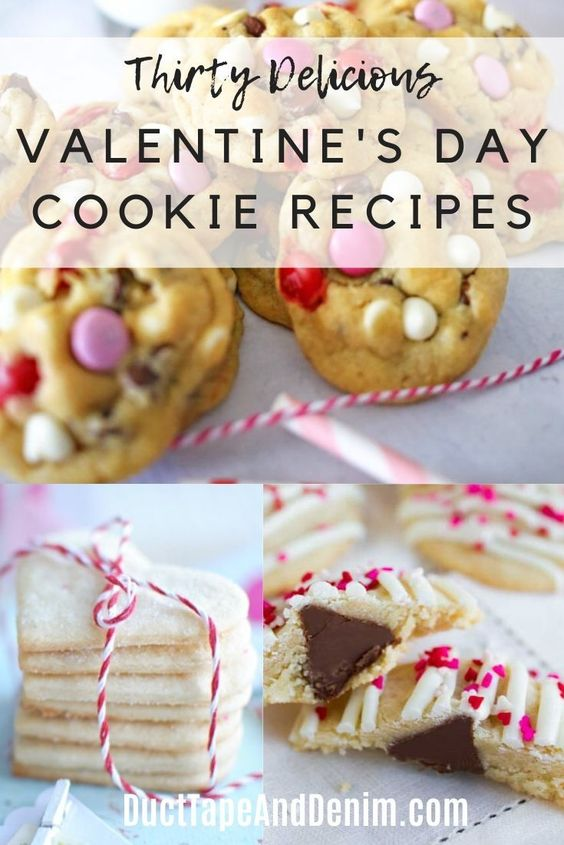30 Delicious Valentine's Day Cookie Recipes