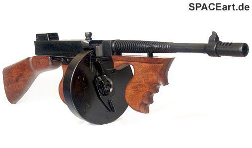 King Kong: Thompson M1928 Drum Rifle, Fertig-Modell ... http://spaceart.de/produkte/kk002.php