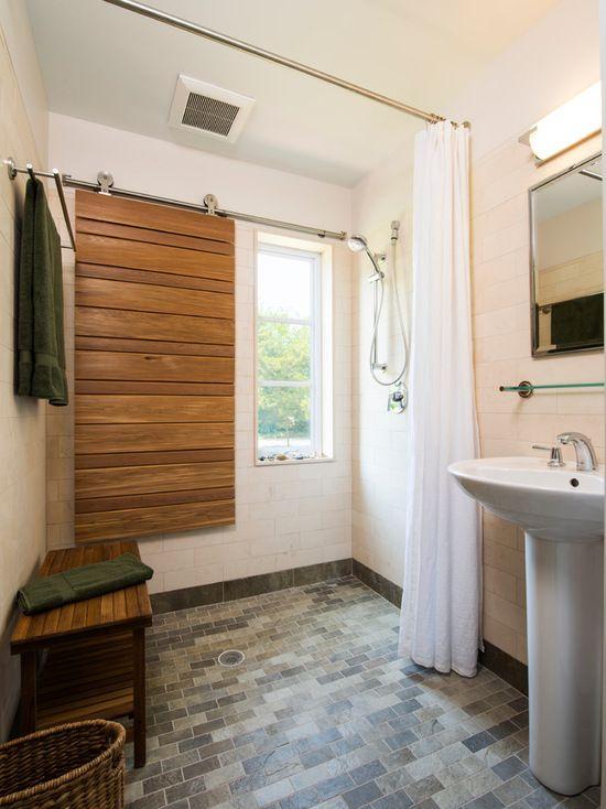 Ideas contemporary bathrooms and bathroom floor plans on for Bathroom floor covering ideas