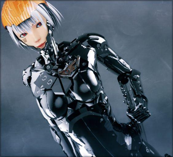 Cyborg ninja by YukinoSama27.deviantart.com on @DeviantArt ...