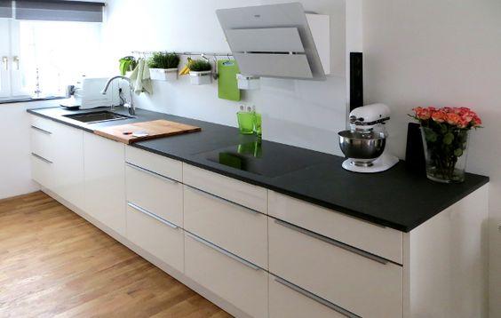 Küche mit Keramik-Arbeitsplatte 1 Küchen Pinterest Keramik - keramik arbeitsplatte küche