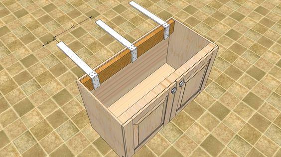 hidden countertop countertop brackets granite countertop bracket ...