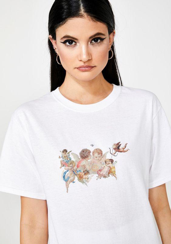 ZEMETA Cupid T-Shirt | Dolls Kill