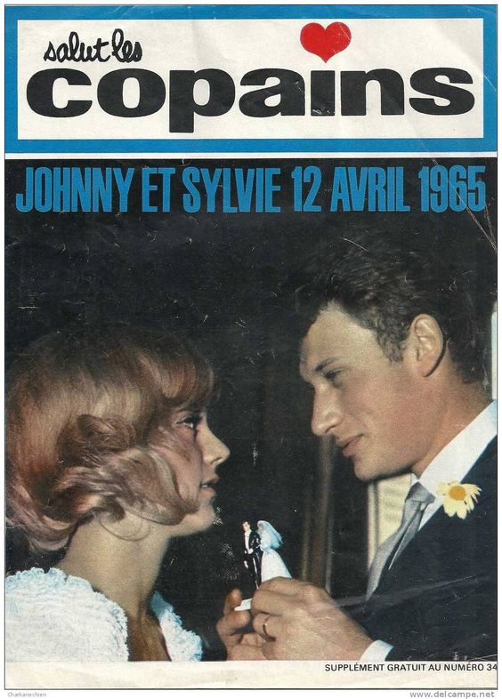 Sylvie Vartan and Johnny Hallyday: