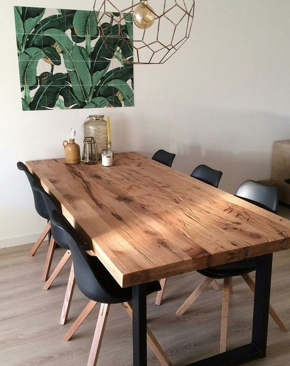 43 Inspiring Dining Tables Modern Design Page 41 Of 43 43 Inspiring Dining Tables Modern Design Page 41 Of In 2020 Dining Room Decor Farmhouse Dining Dining Table