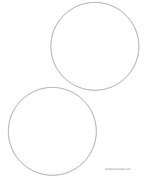Free Printable Circle Templates - Large and Small Stencils ...