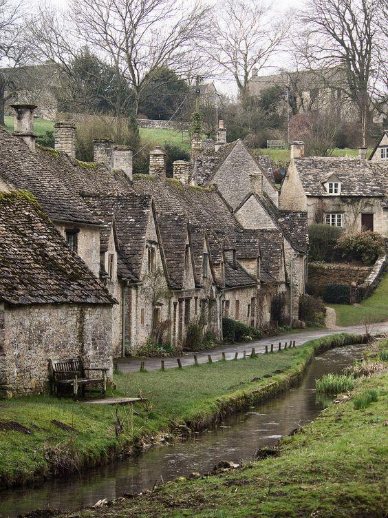 Bibury, Gloucestershire, England by J_Fish