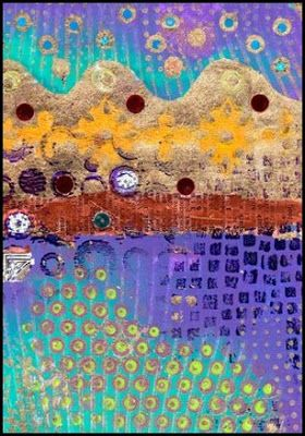 Printing with Gelli: Gild the Gelli