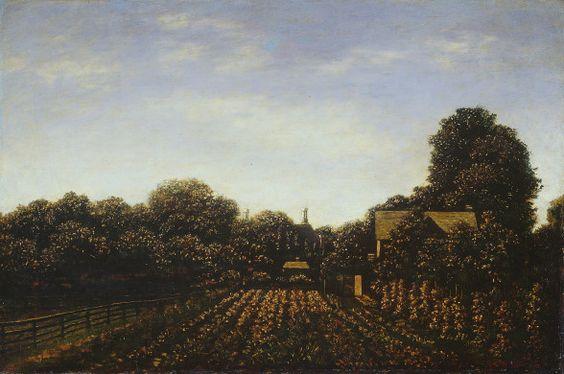Ralph Albert Blakelock  The Artist's Garden, c. 1879/1889  Chester Dale Collection