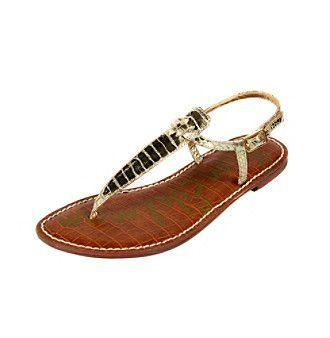 "Sam Edelman® ""Gigi"" T-Strap Sandals at www.elder-beerman.com"