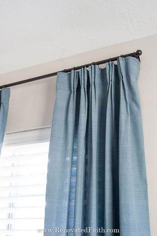 30 Fantastic Affordable Diy Curtain Rod Ideas Diy Curtains