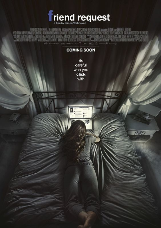 Friend Request - Upcoming Horror Movie: Friend Request (2016) is a horror thriller movie directed by Simon Verhoeven. The… #Movie #Horror