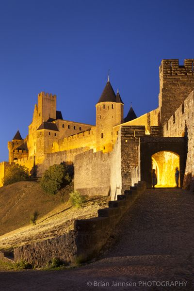Medieval town of Carcassonne, Languedoc-Roussillon, France