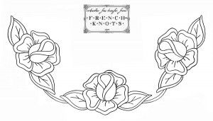 Roses Embroidery Transfer Patterns