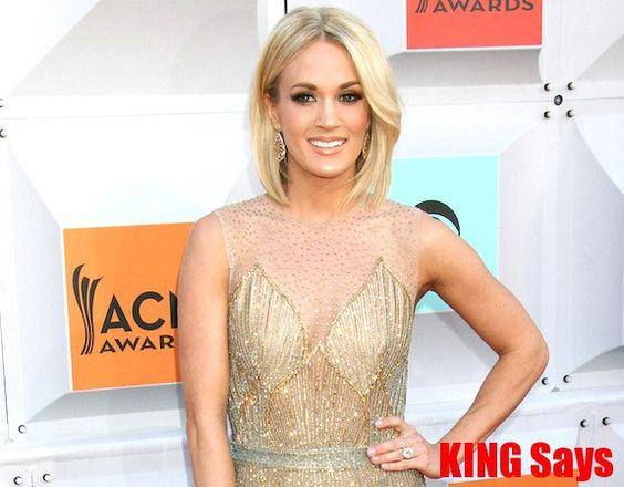 Queen #CarrieUnderwood and King #LukeBryan among others named 2016 #CMT Artists of the Year - King Says 2016