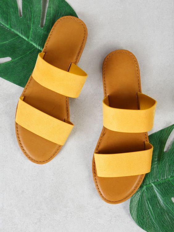 Modest Summer Flat  Sandals