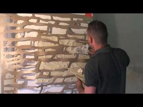 """TUTORIEL Enduit effet pierre """"DecoXpérience"""" - Facile à faire soi même - YouTube"""
