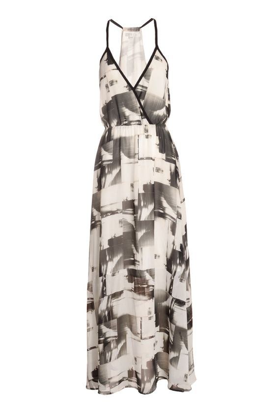 Abstract Print Cami Maxi Dress | Your Style Code