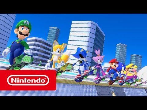 Mario Sonic En Los Juegos Olímpicos Tokio 2020 Eventos Fantasía Nintendo Switch Juegos Olimpicos Nintendo Sonic