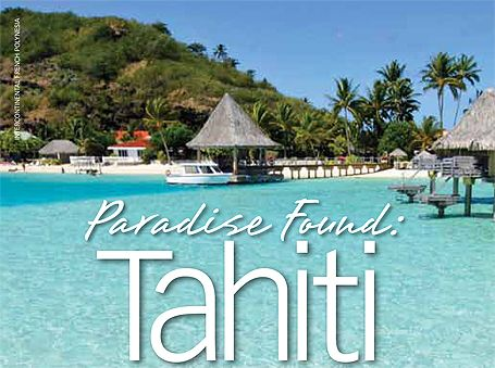 Paradise Found: Tahiti - Costco Connection article
