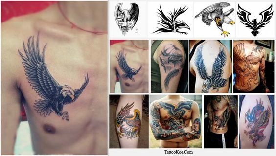 Eagle Tattoo Designs and Meanings